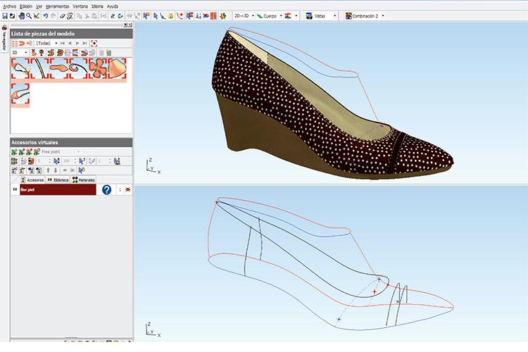 Curso de calzado 3D